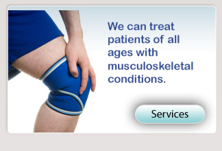 Our physical therapists can provide patient services for all ages